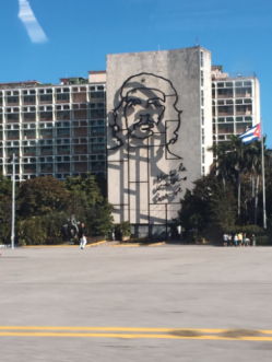 Che image at the Plaza de Revolucion