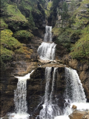 Kuhfluchtwasserfalle