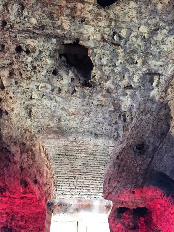 Ceiling of the Cellars