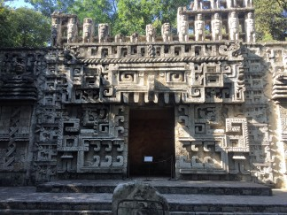 Exhibit of a temple