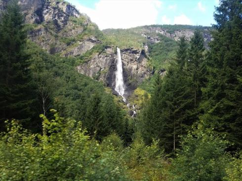 Waterfall in the Fjords