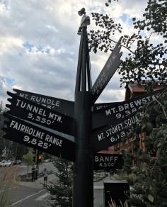 Elevation around Banff
