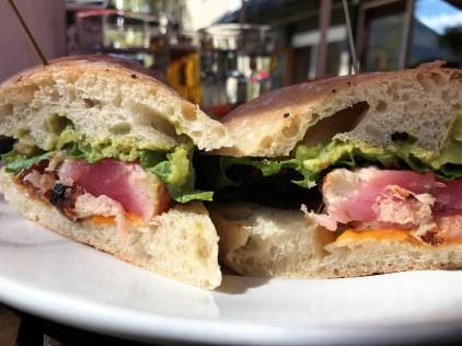 A perfect ahi-tuna sandy