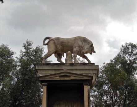 bull stele