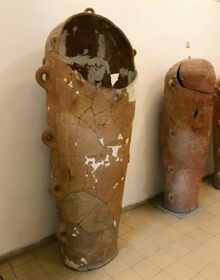 Sarcophagus found near the cite