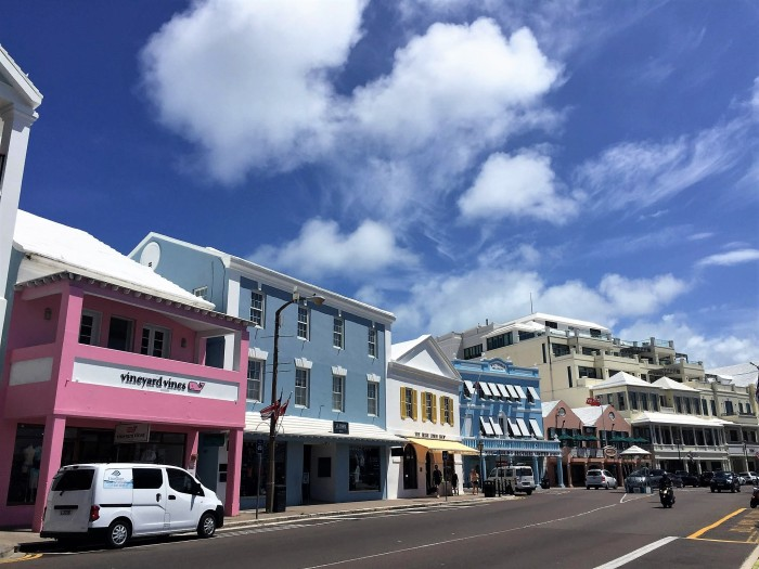 downtown hamilton bermuda