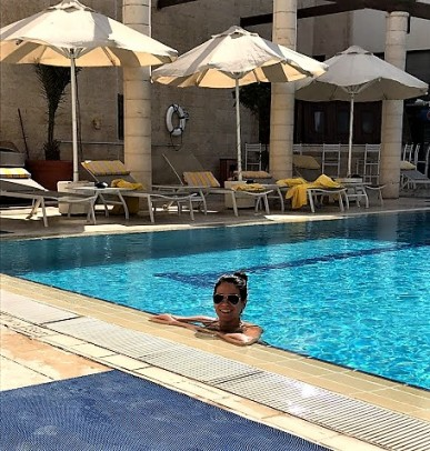 Cooling off at the Movenpick