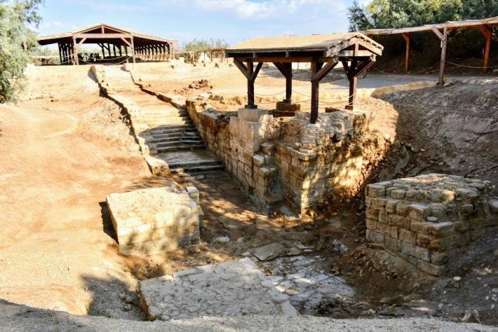 dead sea jesus baptism site