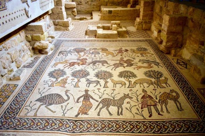 dead sea mount nebo mosaics