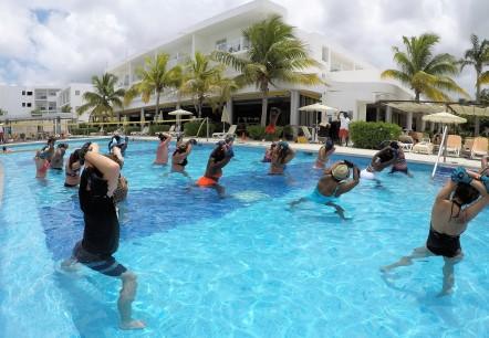 Pool Aerobics!
