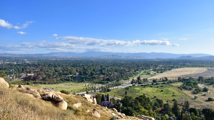 View from the top of Mount Rubidoux
