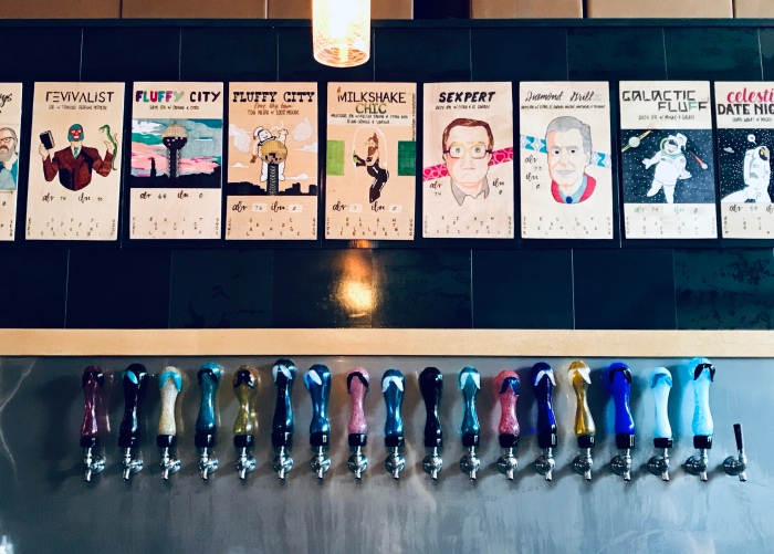 Pretentious Beer Co Taps