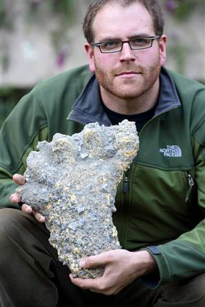 Josh Gates and the Yeti Print
