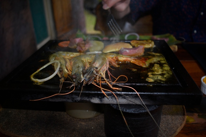 Shrimp at Maria's Rock Cafe