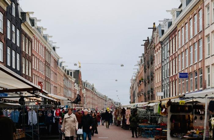 Outdoor Market Shopping