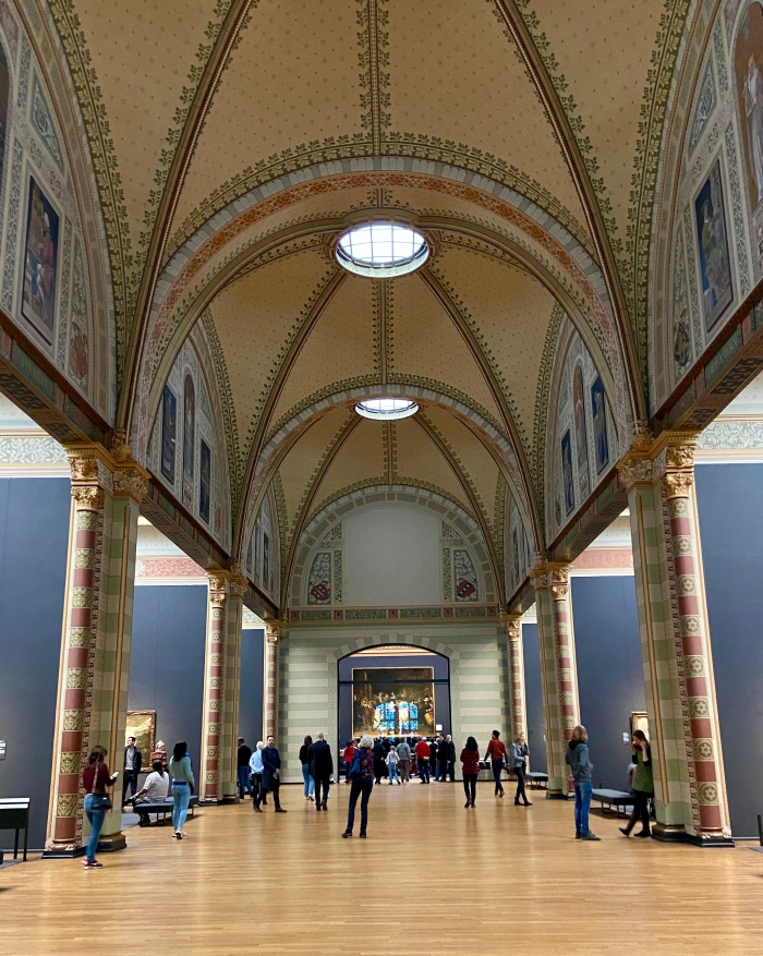 Gallery at the Rijksmuseum
